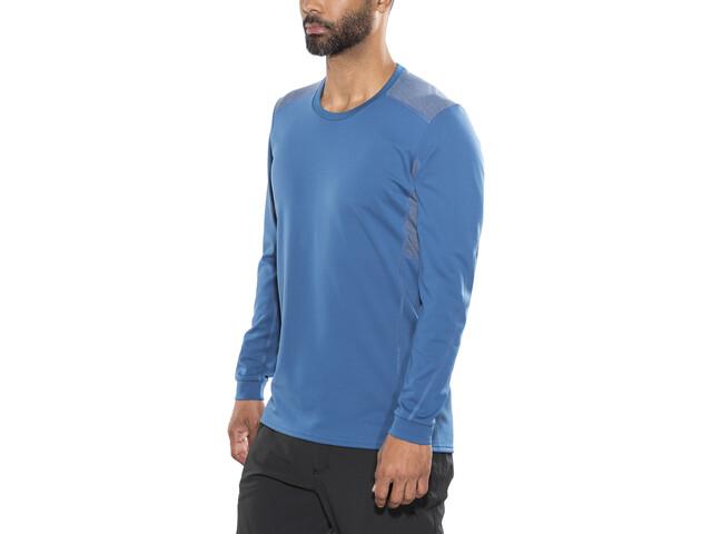 Norrøna Falketind Super Wool Maillot Hombre, denimite blue